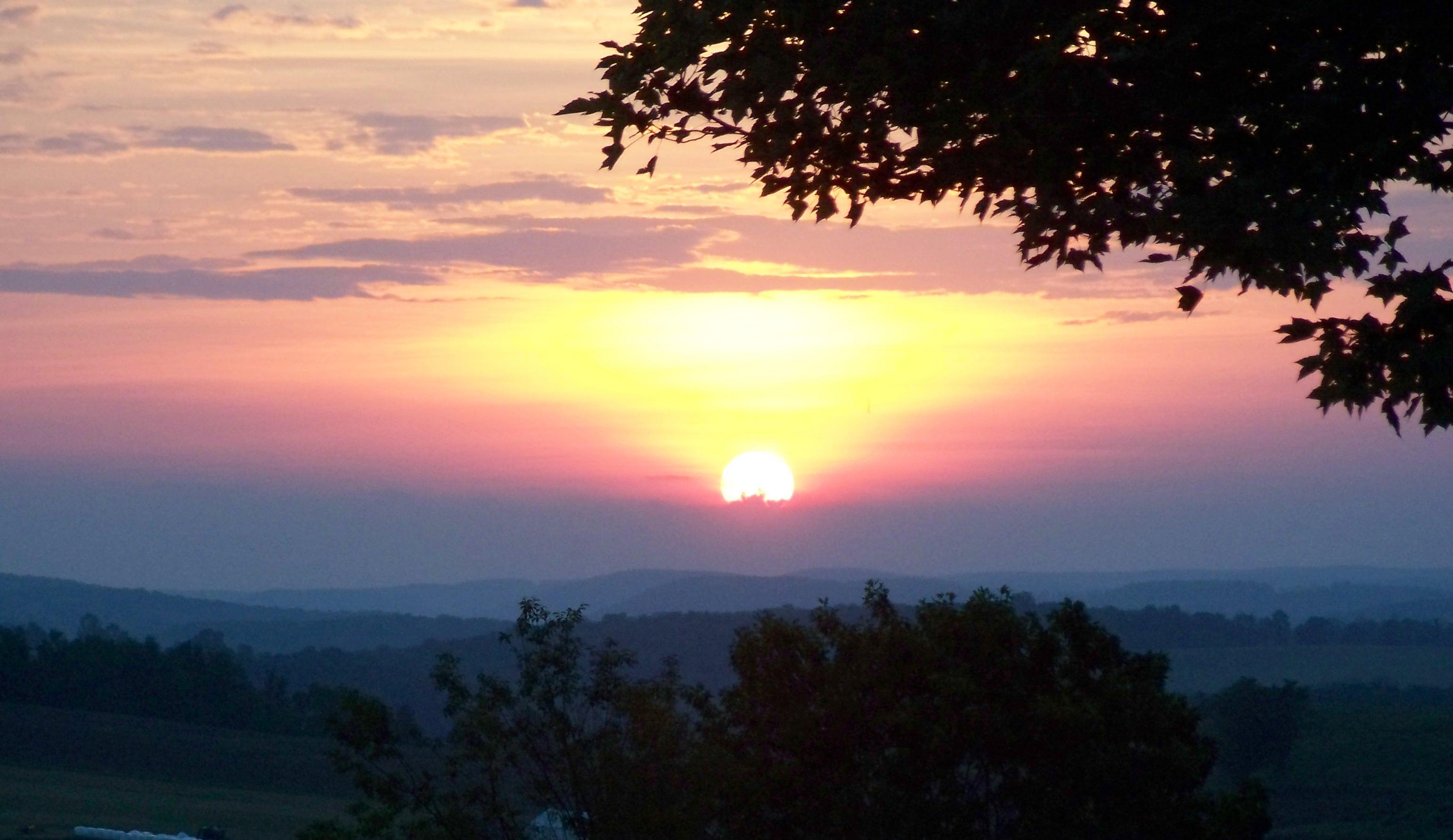 Sunrise in Tioga
