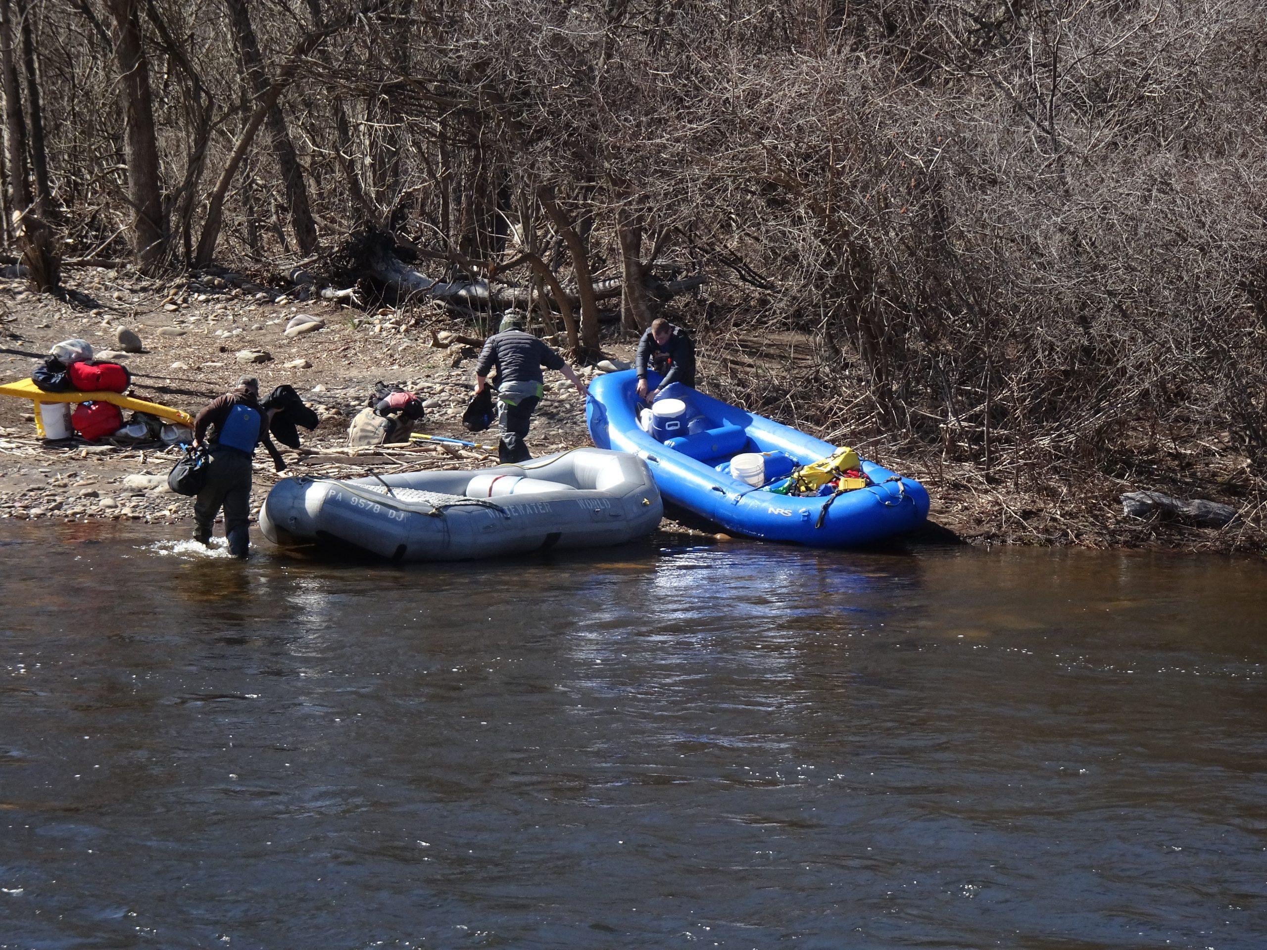 Spring Rafting